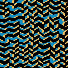 Chevrons by Sarah Bagshaw - available to license @Patternbank