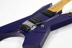KILLER KG-PIRATES Sparkling Purple Maple neck Used guitar Free shipping EMS…