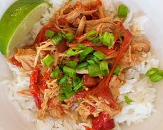 Thai pork with peanut sauce. so delicious!! Make it with Spicy Asian Slaw (pinning soon...)