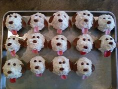 """Easy """"pup""""cakes!!!"""