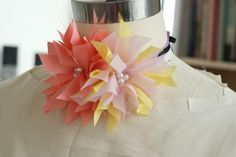 Another Fabric Flower Variation!  (getting ready to make now.... :)