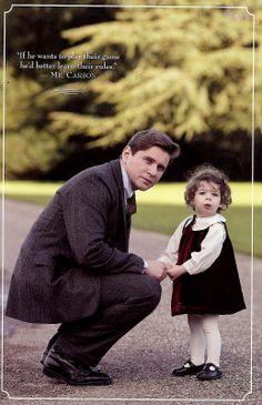 Après la mort de Sybil, Tom va devoir élever seul leur petite fille