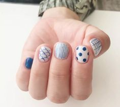 solid, scalloped, striped, dots, grid.