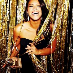 Hooray for Gina Rodriguez's Golden Globe win!