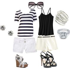 summer fun, created by rmona95 on Polyvore