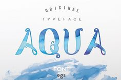 AQUA by Efe Gürsoy on Creative Market