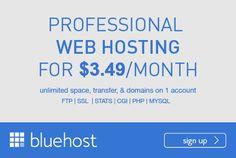 bluehosting wordpress