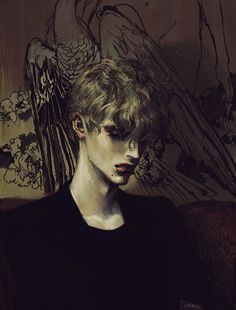Find images and videos about boy, art and drawing on We Heart It - the app to get lost in what you love. Art And Illustration, Character Illustration, Character Inspiration, Character Art, Pixiv Fantasia, Poses References, Boy Art, Matisse, Dark Art