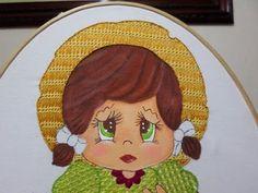 Bordado fantasía sombrero de la niña uva - YouTube