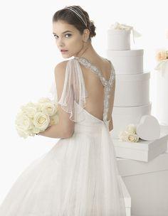 107 CADETE Rosa Clara 2014 modeled by Barbara Palvin