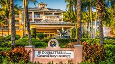 DoubleTree by Hilton Hotel Grand Key Resort - Key West, FL - Hotel Exterior with sign