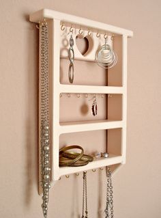 Jewelry organizer - Pink Heart - by Lolailo - $34.99