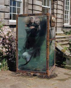 Kristen McMenamy Becomes a Mermaid for Tim Walker Photos | W Magazine