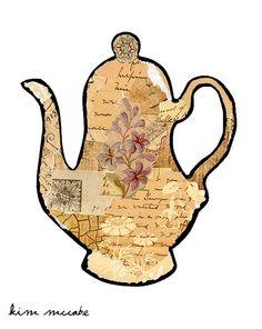 Tea Pot Collage