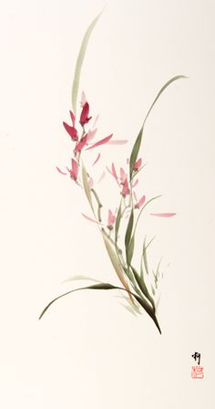 Kopald Painting Gallery 5 Japanese Watercolor, Japanese Painting, Japanese Art, Chinese Painting Flowers, Chinese Artwork, Chinese Drawings, Sumi E Painting, Watercolor Paintings, Watercolor Projects