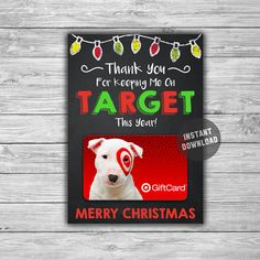 PRINTABLE Personalized Christmas Gift Card Holder - Target End Of School Year Gift Card Teacher Daycare Coach Gift Idea - Digital File by TheDigiSloth on Etsy daycareteachergifts Daycare Teacher Gifts, Teacher Christmas Gifts, Personalized Christmas Gifts, School Gifts, Teacher Appreciation Gifts, School Teacher, Kindergarten Teacher Gifts, Teacher Treats, School Treats