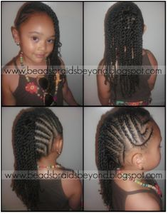 Terrific Girls Natural Hairstyles Hair Images And Flower Hair On Pinterest Hairstyles For Women Draintrainus