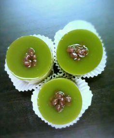 Green tea desert    #green #cupcakes #taramisu