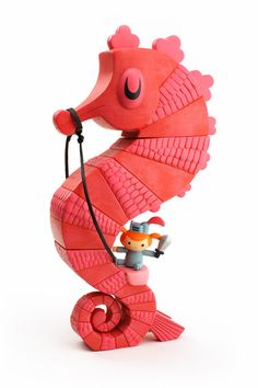 Knight Seahorse by Amanda Visell (sold out! Curses!)