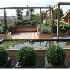 Rvs waterspuwer modern waterelement aluminium waterbak gestucte muur water in de tuin - Zwarte pool liner ...