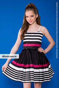 Vestido Infantil Diforini Moda Infanto Juvenil 010831 - Veja nosso novo produto! Se gostar, pode nos ajudar pinando-o em algum de seus painéis :)