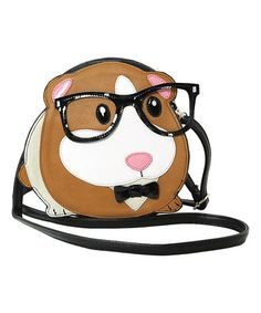 Another great find on #zulily! Black Guinea Pig Crossbody Bag #zulilyfinds