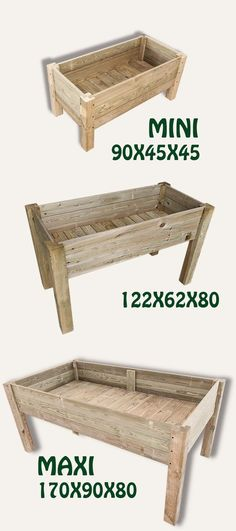 Mesa cultivo kit 122X62X80 Elevated Garden Beds, Raised Garden Beds, Raised Beds, Raised Planter, Garden Bags, Garden Planter Boxes, Above Ground Garden, Woodworking Courses, Inside Plants