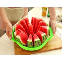 Melon Slicer Fruit Cutter Stainless Steel  Shop Now >> http://ealpha.com/search?controller=search&orderby=position&orderway=desc&search_query=+10370144&submit_search=&utm_source=Ealpha&utm_medium=Promotion&utm_campaign=Melon
