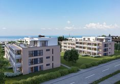 © STOMEO Visualisierungen - Zürich   www.stomeo.ch 3d, Mansions, House Styles, Home Decor, Birds Eye View, Architecture Visualization, Real Estates, Floor Layout, Decoration Home