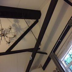 Dakconstructie huisje De Knusse    (Leenderstrijp). www.dorpswoning.nl