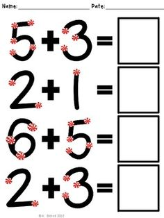 Worksheet Touch Math Printable Worksheets math search and image on pinterest touch point practice with peppermints cute holiday touch