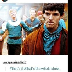 Gaius should be in the background shaking his head or saying I told you so.. that would really be the whole show.