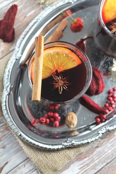 Homemade Mulled Wine Syrup  - Clean Eating