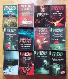 12x ANDREAS FRANZ +++ DANIEL HOLBE +++ KRIMI THRILLER BUCHPAKET - JULIA DURANT