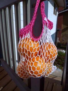 7Loops Easy Mini Crochet Produce Bag
