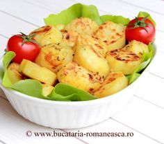 Cartofi cu usturoi si mustar la cuptor Raw Vegan Recipes, Cooking Recipes, My Favorite Food, Favorite Recipes, Romanian Food, Romanian Recipes, European Dishes, Good Food, Yummy Food