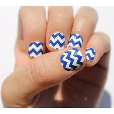 Navy Chevron Nail Wraps ($8) ❤ liked on Polyvore featuring beauty products, nail care, nail treatments, nails, bath & beauty, grey, makeup & cosmetics, hair blow dryer and blow dryer