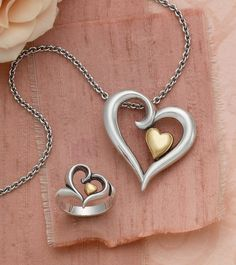Joy of My Heart Collection #JamesAvery #Heart #HeartJewelry #jewelry
