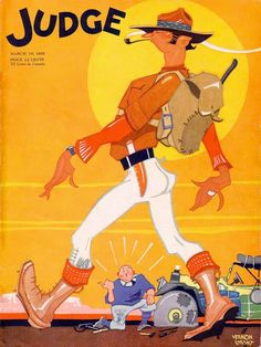Judge magazine cover March 1932