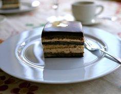 Cake. Chocolate cake.