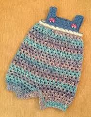 Image result for newborn boy romper crochet free pattern