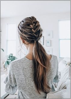 Hair toppers are an easy way to add volume to thinning hair. Human Hair Toppers and Hair Extensions by Tressmerize are extremely comfortable, and unnoticeable. Get your Human Hair Toppers and Hair Extensions today! French Braid Ponytail, French Braid Hairstyles, Pretty Hairstyles, Hairstyle Ideas, French Braids, French Hair, Hair Ponytail, Braid Thin Hair, Braids Into Ponytail