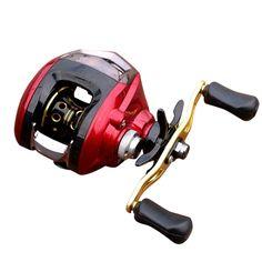 Carp Bait Casting 6.3:1 10+1BB Fishing Reel Left Right Hand Round Metal Head Fishing Reels Carretilha de pesca molinete Shimano