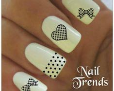 Tatuajes de lunares clavo etiqueta 20 vinilo decoración adhesiva uñas Nail Art