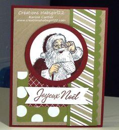 by Creations Habsgirl22 www.creationshabsgirl22.com Karine Cartier Stampin' Up! Demo Montreal Santa's List