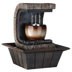 Cool Indoor Outdoor Portable.. Enthusiastic Serenelife 3-tier Water Fountain Decoration High Safety