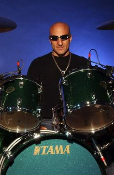 """Drummerworld: Kenny Aronoff """"Wearing The Pieces Of Eight® Jewelry Necklace, Looking Strong As Usual.!!"""" -JDC' [;}*  Goto www.piecesofeightjewelry.com to see more vibes..."""