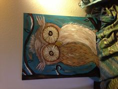 Whoo gives a Whoot!! Owl painting ...