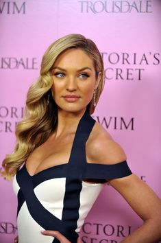 Candice Swanepoel in 15th Anniversary Of Victoria's Secret SWIM Catalogue At Trousdale