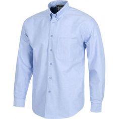 Camisa de manga larga. Referencia  B8400 Marca:  WorkTeam  Camisa de manga larga. Cierre de botones. Cuello con botones. Puño de botón. Un bolso de pecho. Canesú en la espalda. Tejido Oxford
